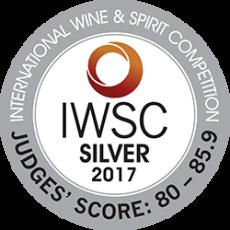 IWSC Silver Award 2017