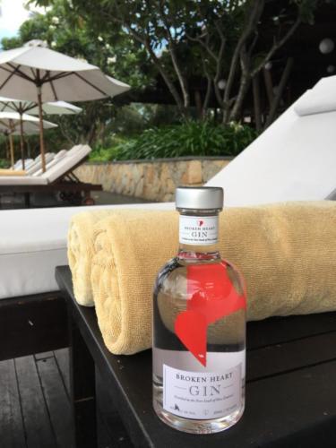 BH Classic Gin bottle at Wyndham Carissa Villas Phuket