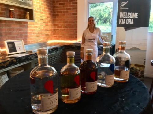 British Club Bottles on Bar