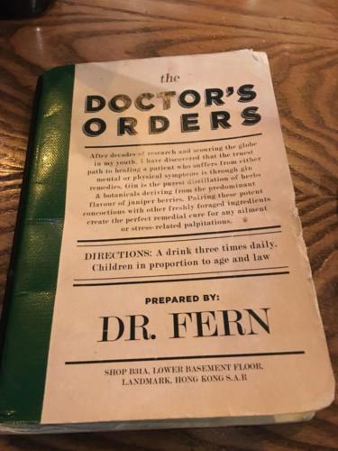 Dr Fern_s HK Menu