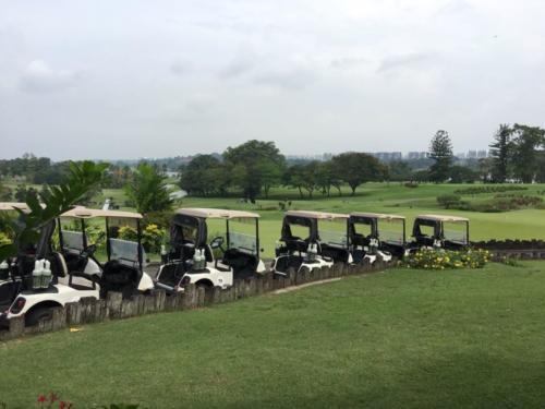 SOE Golf Charity Event Buggies