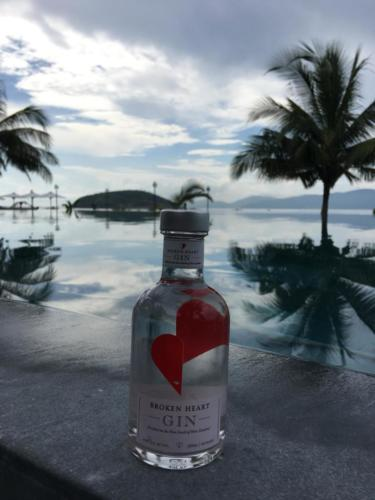 Small BH Gin Bottle at Wyndham Carissa Villas Phuket